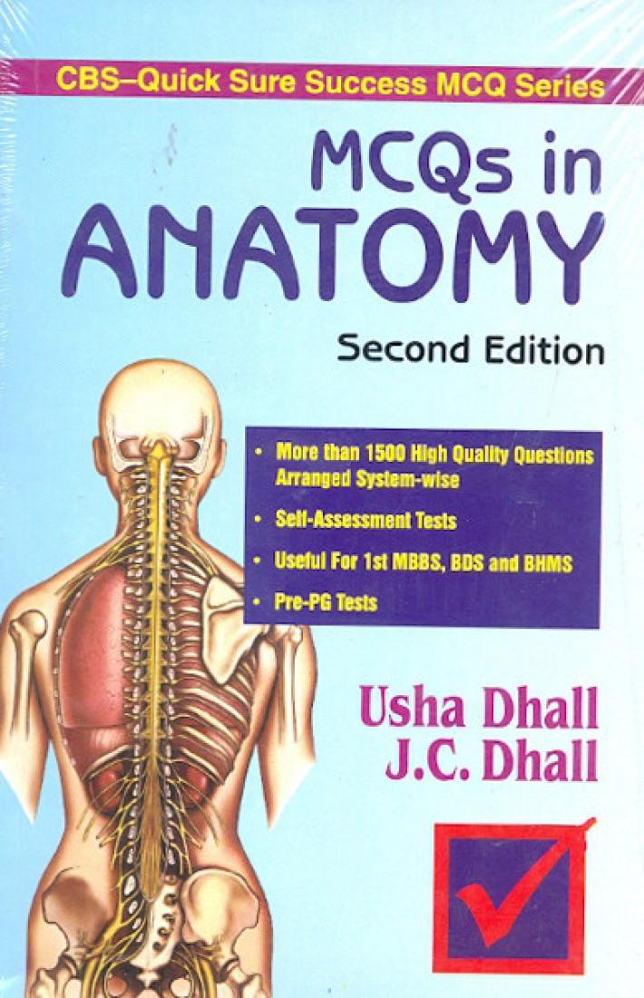 MCQs in Anatomy by Dhall Usha, Dhall J. C. Price In India, Coupons ...