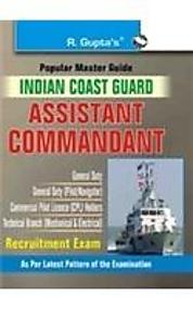 Indian Coast Guard: Assistant Commandant Exam Guide price in India.